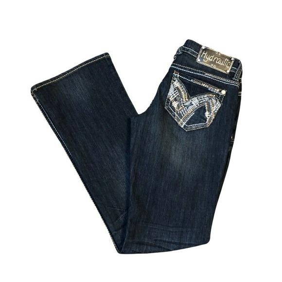 Hydraulic Denim Jeans Gramercy 4 Blue Boot Cut
